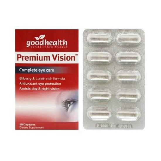 Goodhealth Premium Vision Complete Eye Care 60 caps