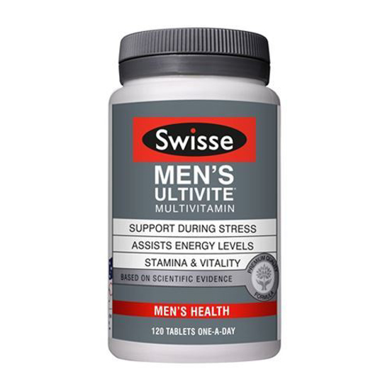 Swisse Men's Ultivite 120 tables one a day