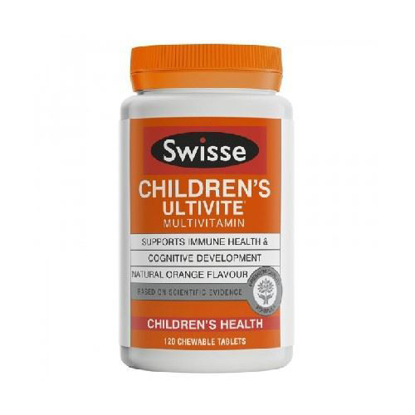 Swisse Children's Ultivite Multi-Vitamin 120 Chewable Tables