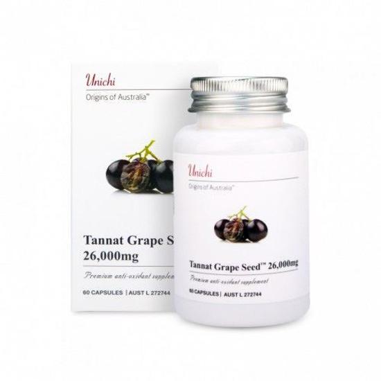 Unchi  Tannat Grape Seed 26000mg 60caps