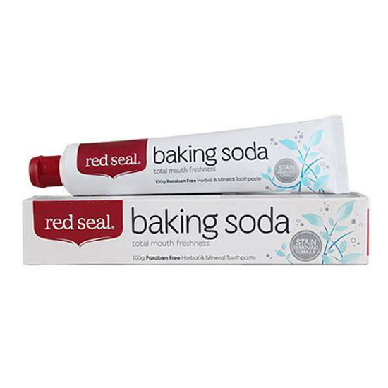 Red Seal Baking Soda - Herbal & Mineral Toothpaste 100g