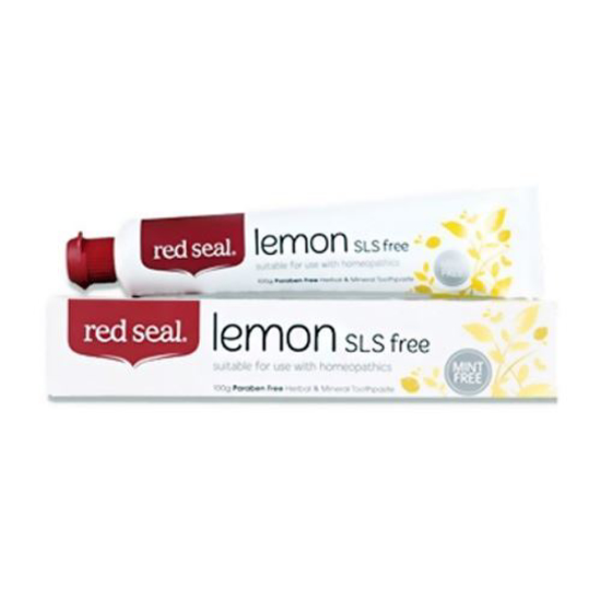 Red Seal Lemon - Herbal & Mineral Toothpaste 100g