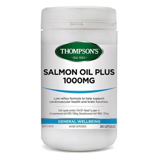 Thompson's SALMON OIL 1000MG 300C