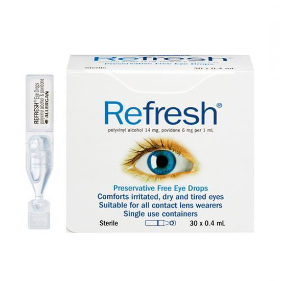 Refresh preservation free eye drops 30ml