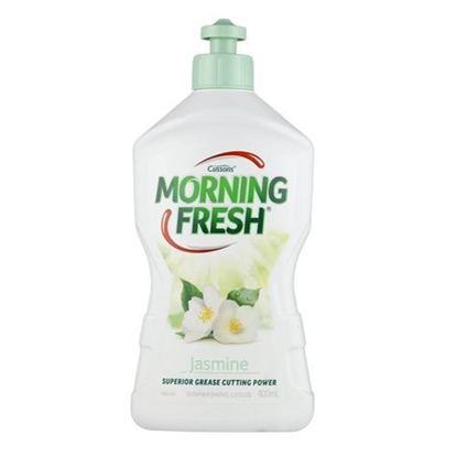 Cussons Morning Fresh Dishwashing Liquid Jasmine 400ml