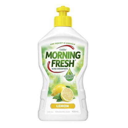 Cussons Morning Fresh Dishwashing Liquid Lemon 400ml