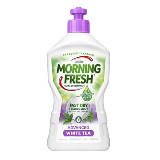 Cussons Morning Fresh Dishwashing Liquid White Tea 400ml