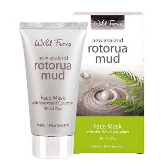 Parrs  Rotorua Mud Face Mask with Aloe Vera & Cucumber 80ml