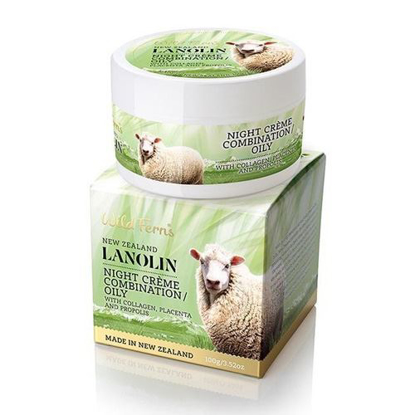 Parrs  Lanolin Night Creme Combination / Oily 100g