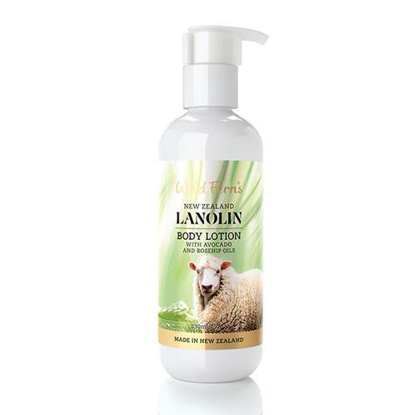 Parrs  Lanolin Body Lotion with Avocado n Rosehip Oils 230ml