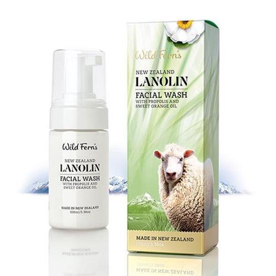 Parrs  Lanolin Foaming Facial Wash 100ml