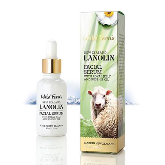 Parrs Lanolin Facial Serum with Royal Jelly n Rosehip Oil 30ml