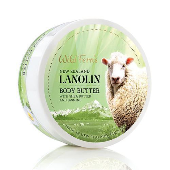 Parrs  Lanolin Body Butter with Shea n Jasmine 175g
