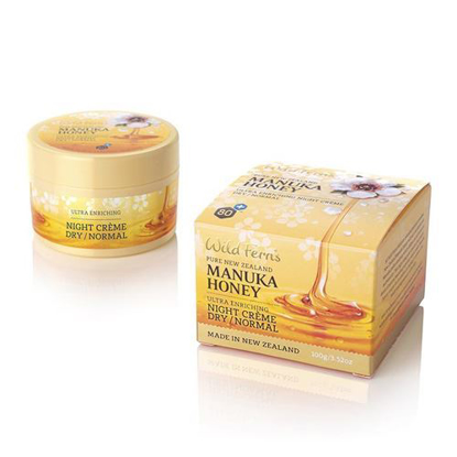 Parrs  Manuka Honey Night Creme Dry / Normal 100g
