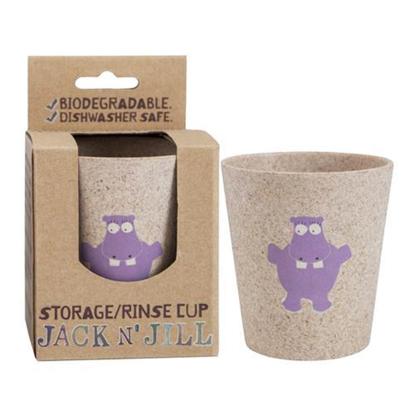 Jack N Jill Rinse Cup Hippo