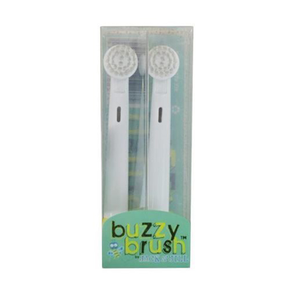 Jack N Jill Buzzy Brush Replacement Heads 2-pack