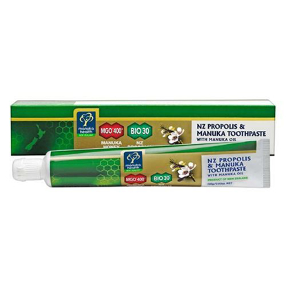 Manuka Health Propolis & MGO™ 400 Manuka Toothpaste with Manuka Oil 100g