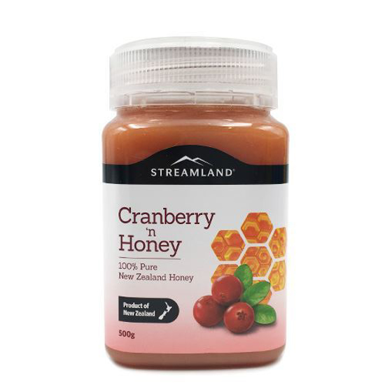 Streamland Cranberry honey 500g