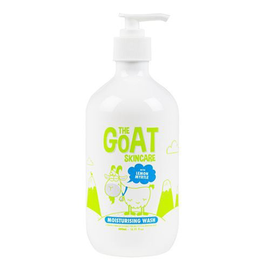 The Goat Skincare Moisturising Wash with Lemon Myrtle 500ml
