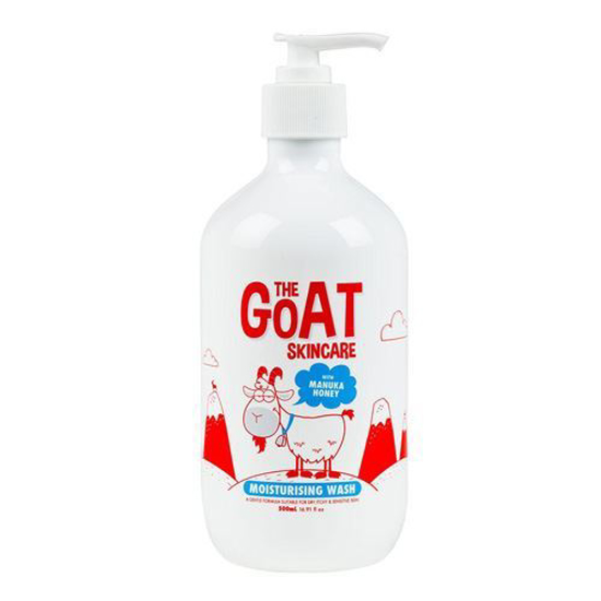 The Goat Skincare Moisturising Wash with Manuka Honey 500ml