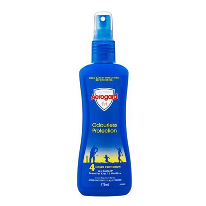 Picture of Aerogard Odourless Protection Insect Repellent Spray 175ml