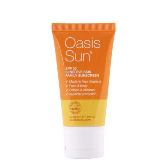 Oasis Sun SPF 30 Healthy Family Sunscreen 50ml