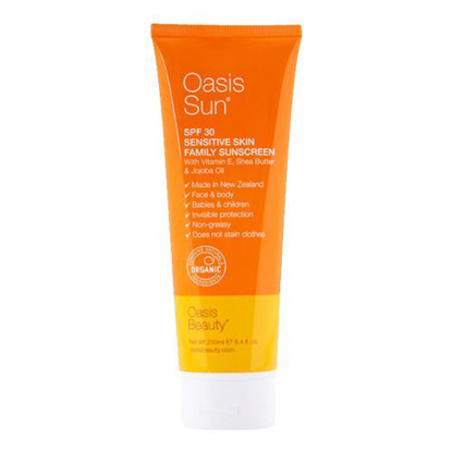 Oasis Sun SPF 30 Sensitive Skin Family Sunscreen 250ml