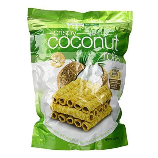 Tropical Fields Crispy Coconut Rolls 265g