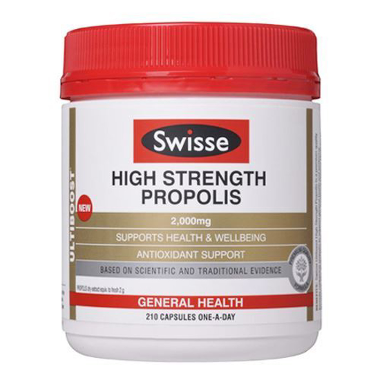 Swisse High Strength Propolis 2000mg 210caps