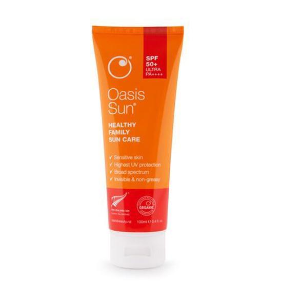 Oasis Sun SPF50 Healthy Family Sunscreen 100ml