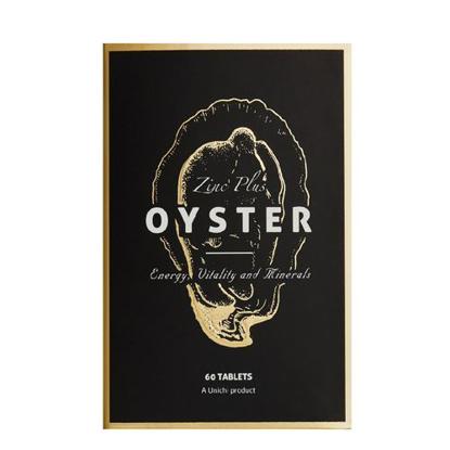 Unichi  Oyster Zinc Plus 60 tabs