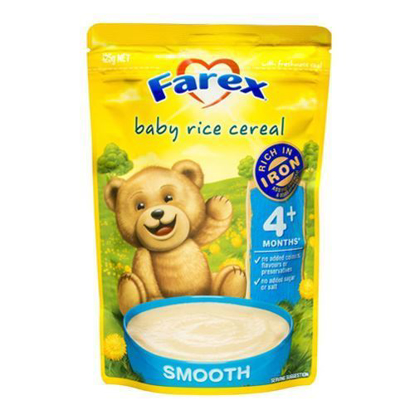 Farex Baby Rice Cereal 4 month+  125g