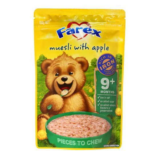 Farex Muesli with Appple 9 month + 150g