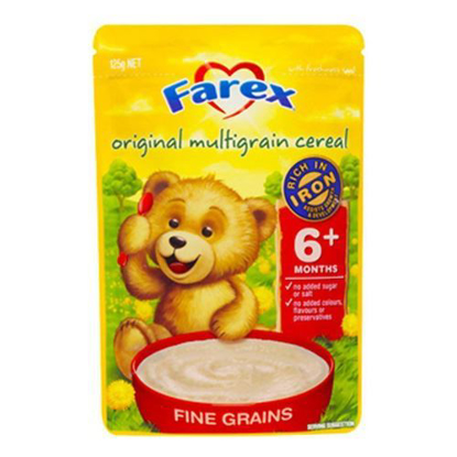 Farex Original Multigrain Cereal 6 month + 125g