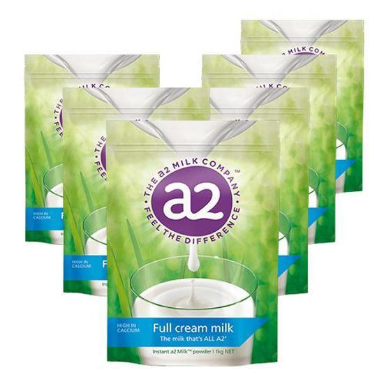 A2 Full Cream Milk Powder 1kg x 6