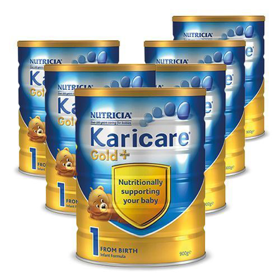 Karicare Gold Stage 1 (0-6 months) 900g x 6
