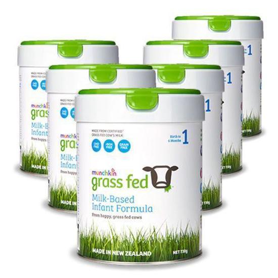 Munchkin Grass Feed Stage 1 (0-6 months) 730g x 6