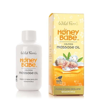 Wild Ferns Honey Babe Massage Oil 120ml
