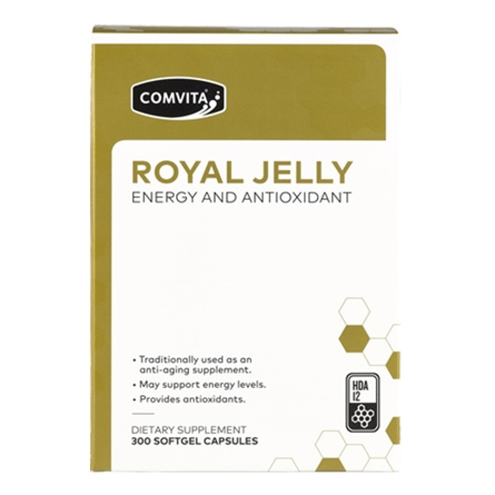 Comvita Royal Jelly Energy and Antioxidant 300 caps