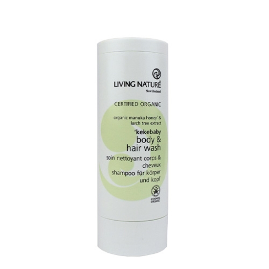 Living Nature Kekebaby Organic Body & Hair Wash 100ml