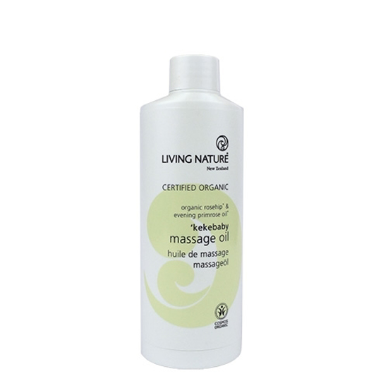 Living Nature Kekebaby Organic Massage Oil 100ml