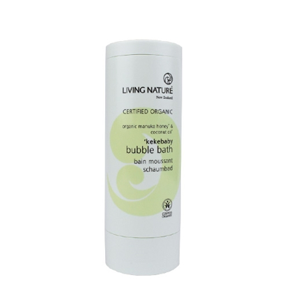 Living Nature Kekebaby Organic Bubble Bath 100ml