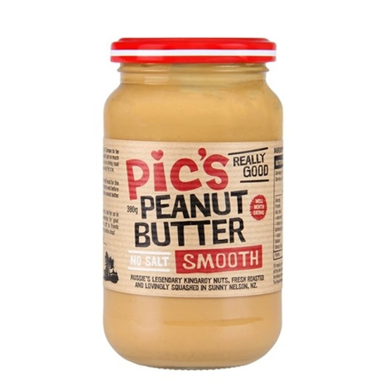 Pic's Peanut Butter Smooth - No Salt 380g