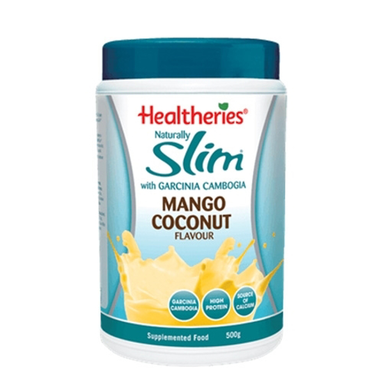 Healtheries Naturally Slim with Garcinia Cambogia Mango Coconut Flavour 500g