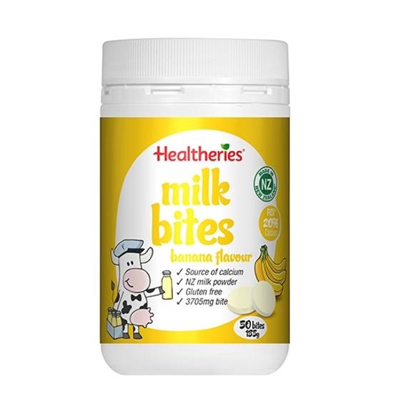 Healtheries Milk bites banana flavour 50 bites