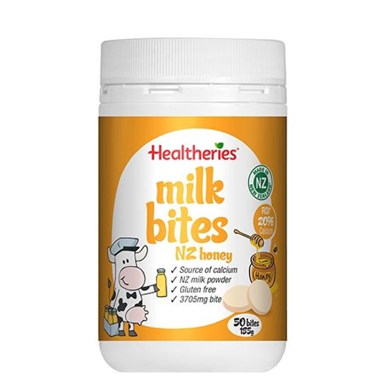 Healtheries Milk Bites NZ Honey 50 bites