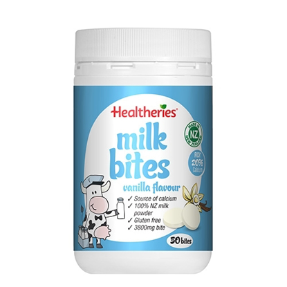 Healtheries Milk Bites Vanilla Flavour 50 bites