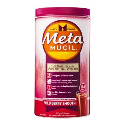 Metamucil Multi-Health Fibre Wild Berry Smooth 114 Doses 673g