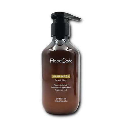 FicceCode Organic Ginger Hair Mask 300ml