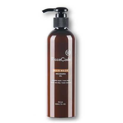 FicceCode Organic Macadamia Oil Hair Mask 260ml